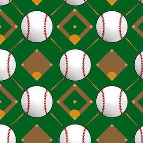 Baseball Bats and Diamonds