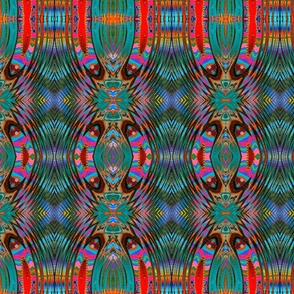 Kaleidoscopic Cacophany Mirrored