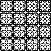 Black and White Blocks and Diamonds