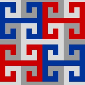 Tesselating T Greek Key Style UK