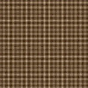 Plaid 1-Cafe Noir and Tan