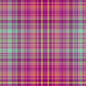 FRUIT SALADE HARMONY PLAID TARTAN 6