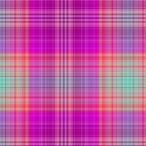 FRUIT SALADE HARMONY PLAID TARTAN 1