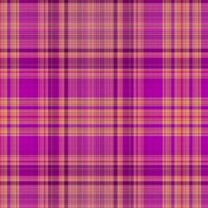 FRUIT SALADE HARMONY PLAID TARTAN 3