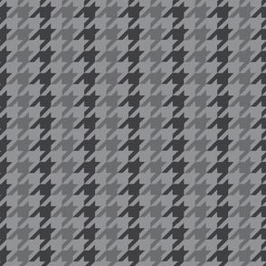 Dark Grey Houndstooth