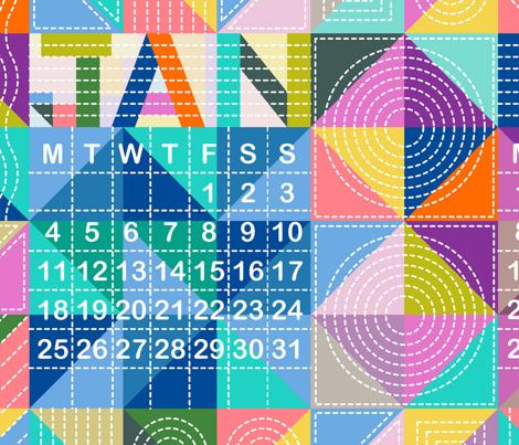 Quilty Calendar 2016