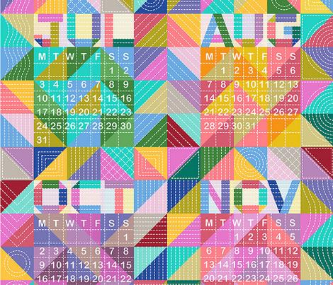 Quilty Calendar 2017