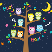 Hoot Hoot Night Owls