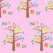 Hoot Hoot Owl Tree