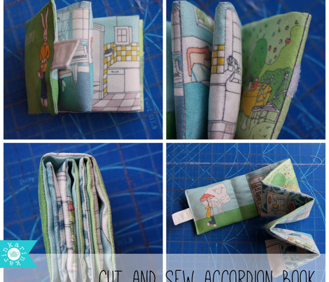 foldable bunny book