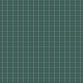 Animal Dream Otter_green grid