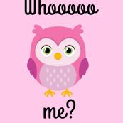 Whoo Me? Pink Owls