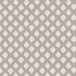 Linen Sandy Dot