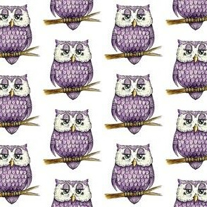 Smaller Purple Owl