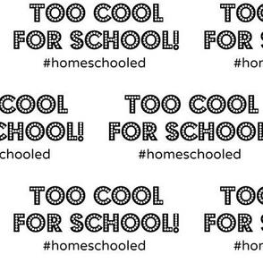#Homeschooled