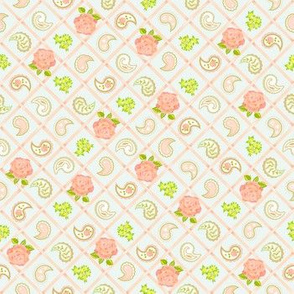 Paisley Rose Lattice