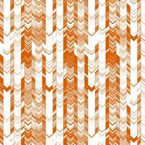 CRAZY CHEVRONS ARROWS CARTOON CARAMEL STONE TOFFEE ORANGE