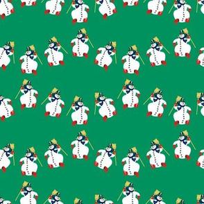 Frosty Parade Green