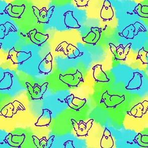 Cockatiels (Purple)