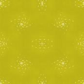Golden Nightflakes - Mirrored