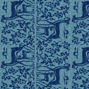 New scarf-2deer-upside-down-verydkturqblk196-90-33-VIVIDLT-turqsweater5d-aquagreysweater5kquery-sRGB