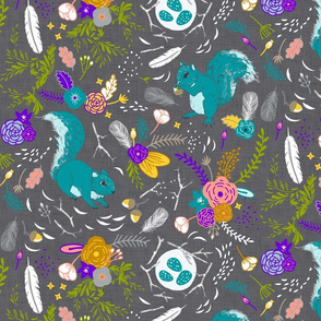 Squirrels (custom colour 1)