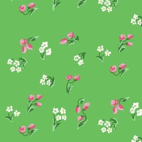 Field of Flowers: 1940s Inspired