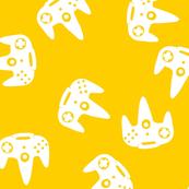 N64 Controller Nintendo Gold