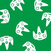 N64 Controller Nintendo Green