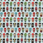 Super Heroes Kawaii