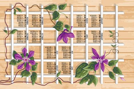 2016 Lattice Clematis Calendar