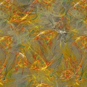 Daphnia Running with Mycelia