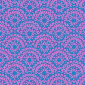 Butterflies - Zinnia (Pink and Blue)
