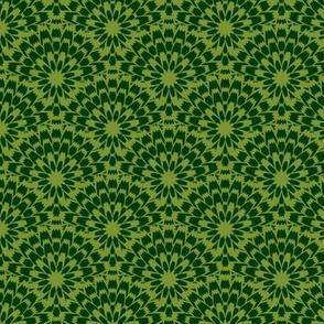 Butterflies - Zinnia (Green)
