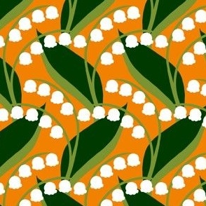 Butterflies - Lily-of-the-Valley (Orange)