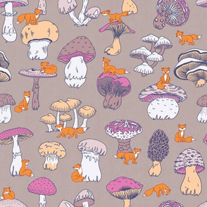 Foxes and Mushrooms