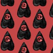 Ouija Planchette in black