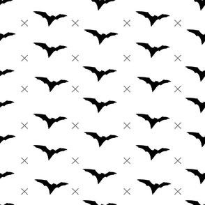 bat with cross