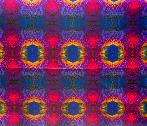 Red and Purple Cape Kaleidoscope 4500