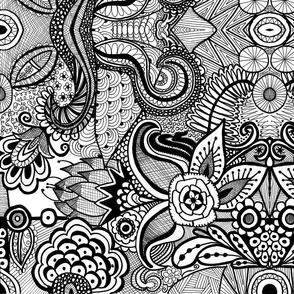 Design 2 Black and White (Mirror)