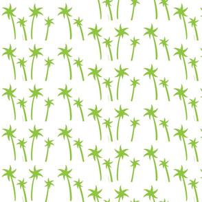 palms White - MEDIUM apple