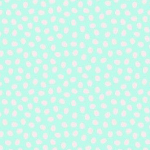 Minty Green Pebbles - large