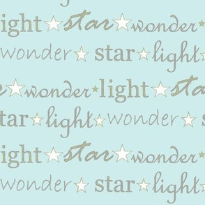 star light wonder - pale blue/green