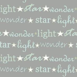 star light wonder - grey/pale blue