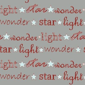 star light wonder - grey/red