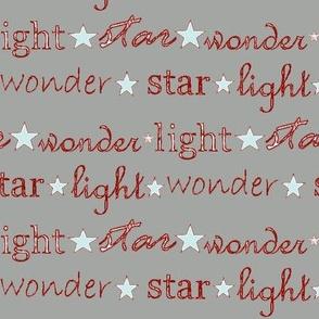 star light wonder - grey/red
