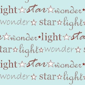 star light wonder - pale blue/red