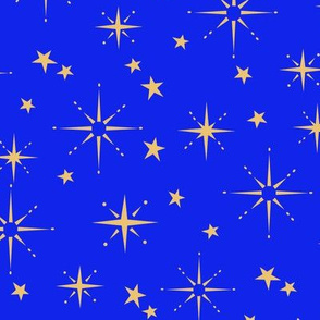 Holiday Stars - Blue