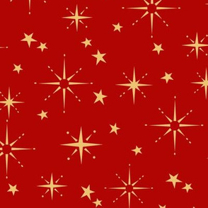 Holiday Stars - Red
