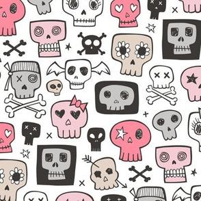 Skulls In Pink